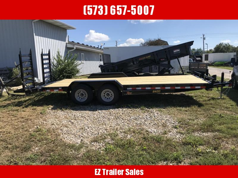 2019 Doolittle Trailer Mfg 84x20 Xtreme Equipment Trailer