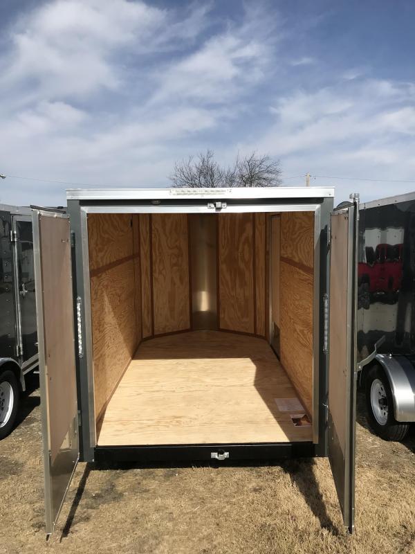 2018 Doolittle 6x10 Bullitt Cargo / Enclosed Trailer