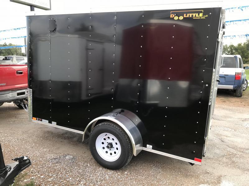 2019 Doolittle 6x10 Bullitt Cargo / Enclosed Trailer