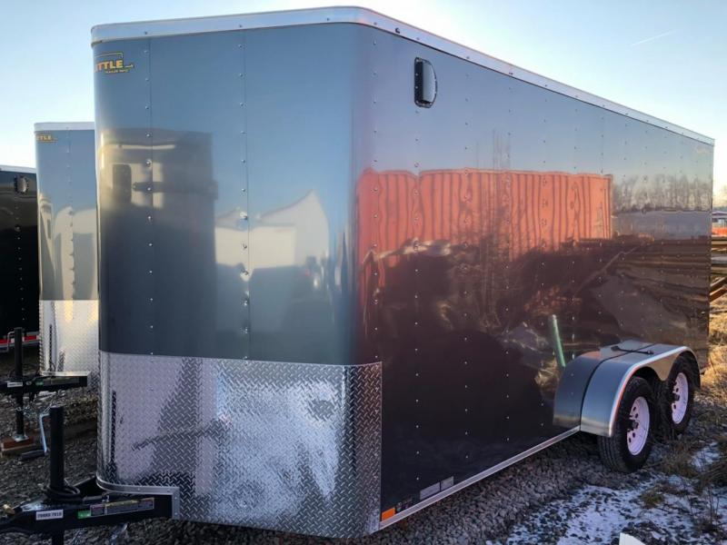 2019 Doolittle 7x16 Tandem Axle 7K Enclosed Cargo Trailer