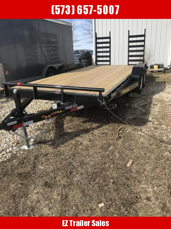 2018 Doolittle 84x18 Xtreme 10k Equipment Trailer