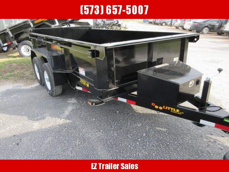 2019 Doolittle Trailer Mfg 72x12 Master Dump Trailer in Black, MO
