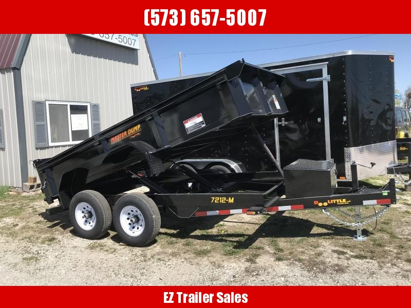 2018 Doolittle Trailer Mfg 72x12 Dump Trailer
