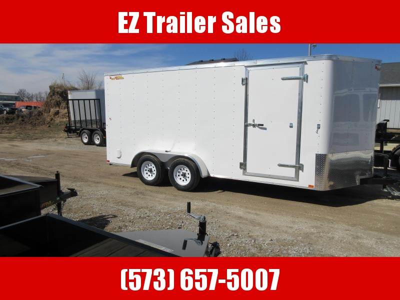 2018 Doolittle Trailer Mfg 7x16 Enclosed Cargo Trailer