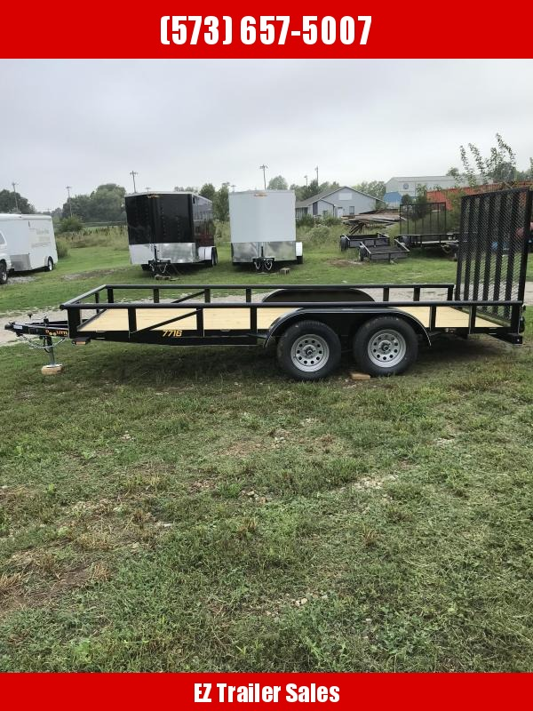 2019 Doolittle Trailer Mfg 77x16 Utility Trailer in Ashburn, VA