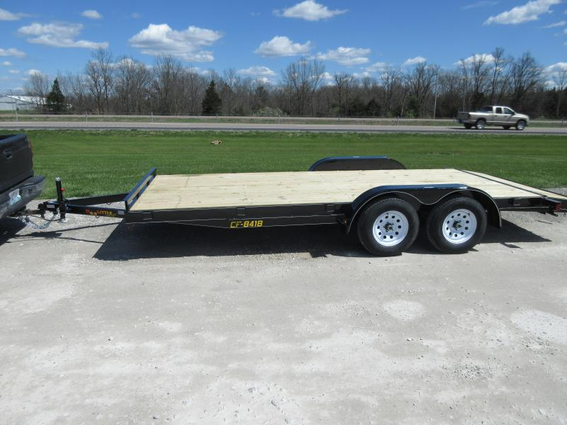 2018 Doolittle 84x18 CF 7k Equipment Trailer