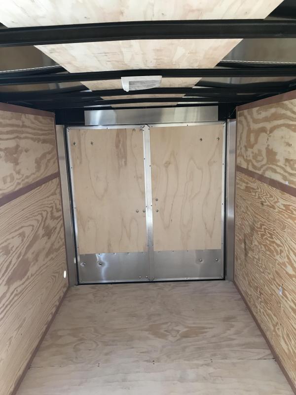 2018 Doolittle 6x12 Bullitt Cargo / Enclosed Trailer