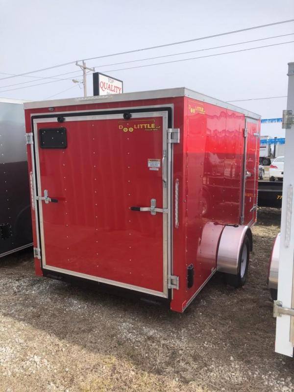 2019 Doolittle 6x12 Cargo / Enclosed Trailer