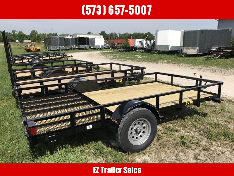 2018 Doolittle 77x12 Rally Sport Utility Trailer