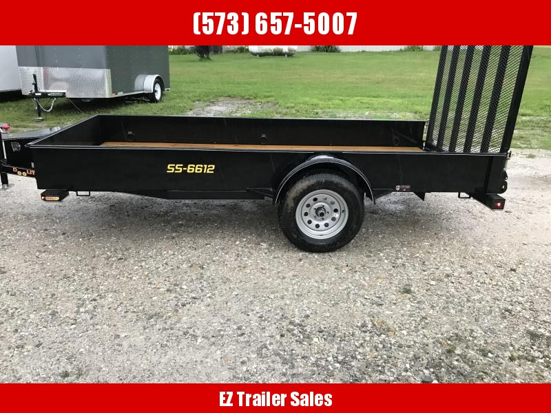 2018 Doolittle Trailer Mfg 66x12 SS Utility Trailer