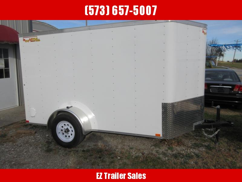 2018 Doolittle 6x10 Bullitt Cargo / Enclosed Trailer