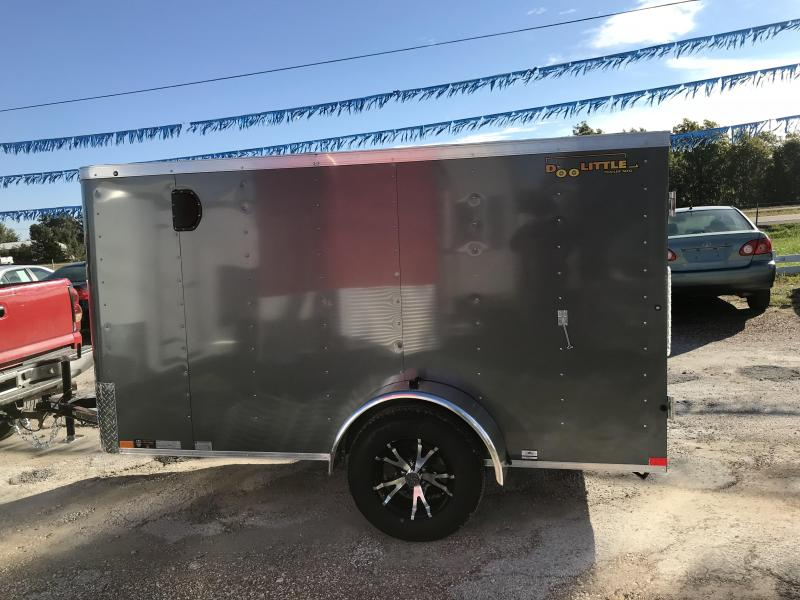 2019 Doolittle Trailer Mfg 5x10 Enclosed Cargo Trailer