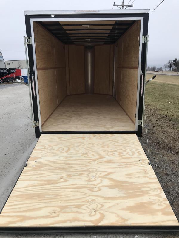 2018 Doolittle 7x16 Bullitt Cargo / Enclosed Trailer