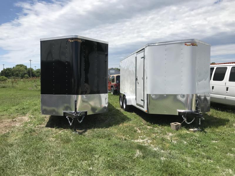 2019 7x14 Doolittle  7K Enclosed Cargo Trailer