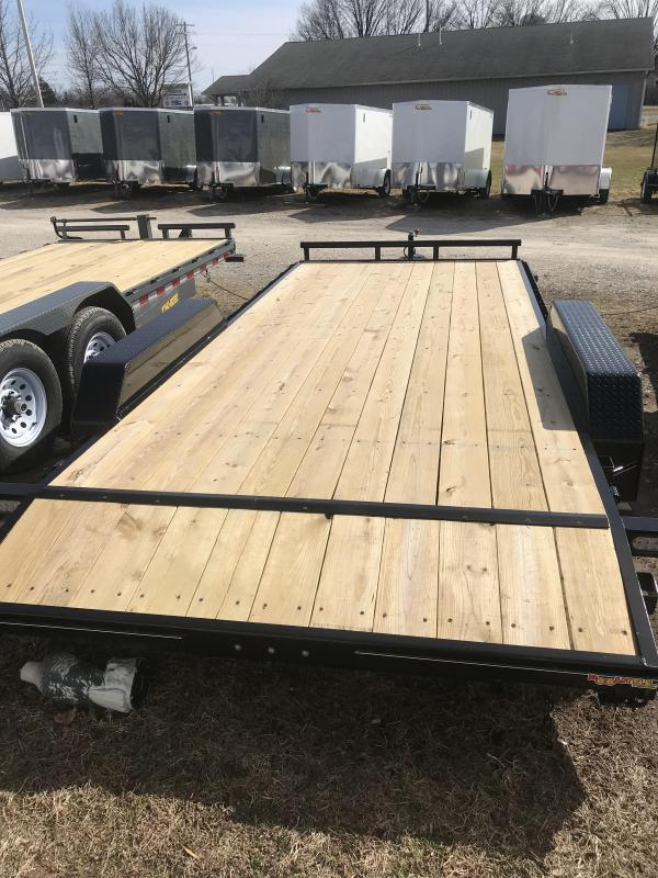 2018 Doolittle 84x18 Xtreme 7k Equipment Trailer