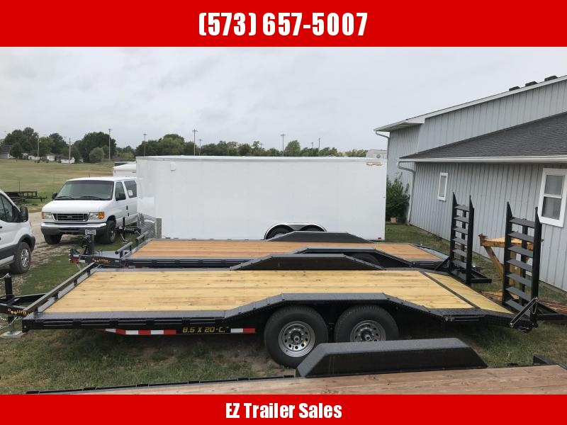 2019 Doolittle Trailer Mfg 102x20CF Equipment Trailer