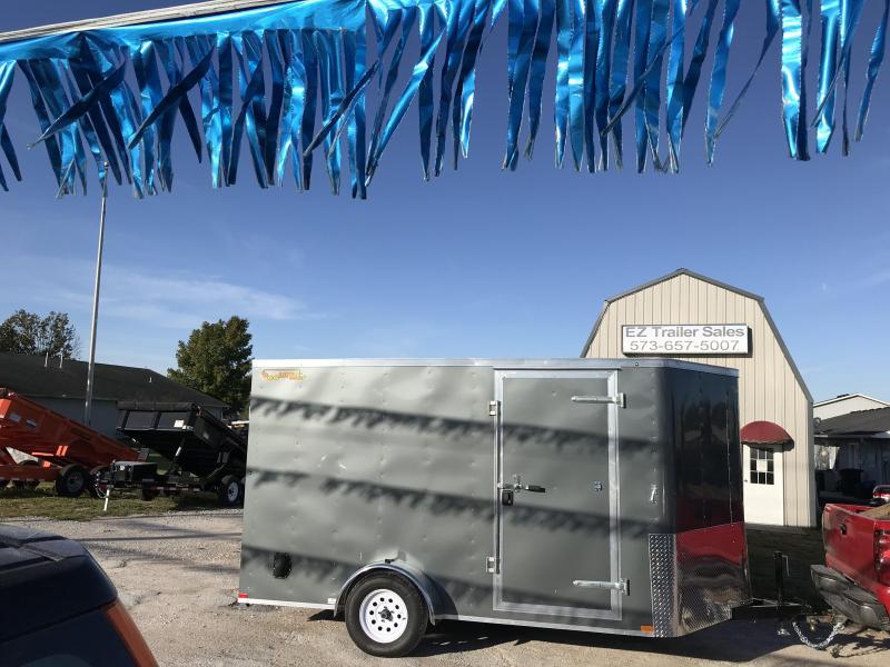 2019 Doolittle Trailer Mfg 7x12 Enclosed Cargo Trailer