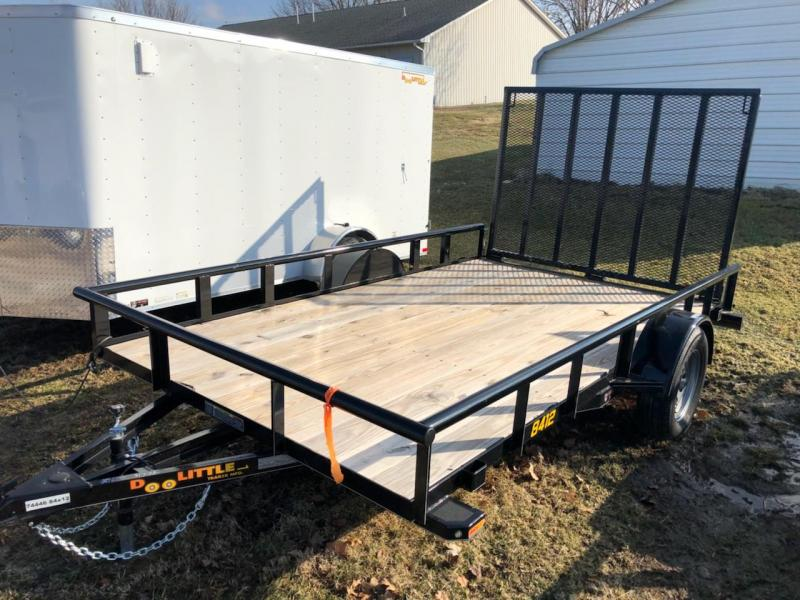 2018 Doolittle  84x12  Utility Trailer