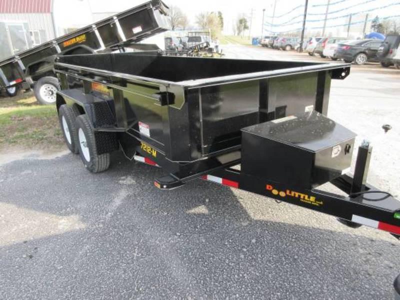 2018 Doolittle 72x12 10k MD Dump Trailer
