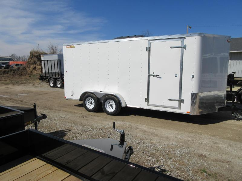 2019 Doolittle  Cargo 7X16  Tandem Axle 7K Enclosed Cargo Trailer