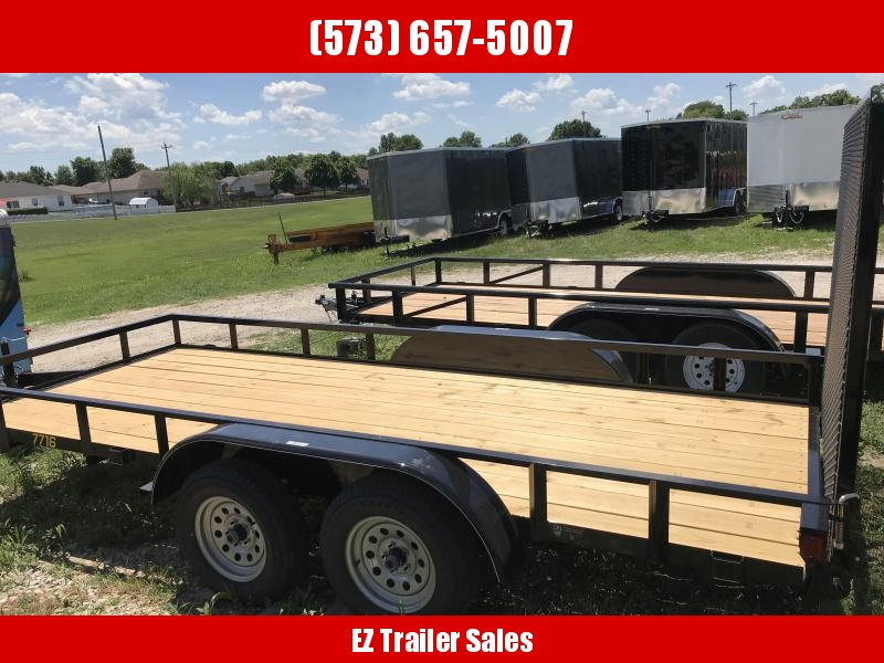 2018 Doolittle 77x16 Rally Sport Utility Trailer