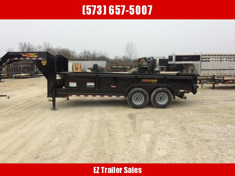 2019 Doolittle Masterdump 82 x 16 Tandem Axle 14K Dump Trailer