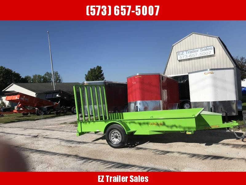2019 Doolittle Trailer Mfg 77x12 SS Utility Trailer