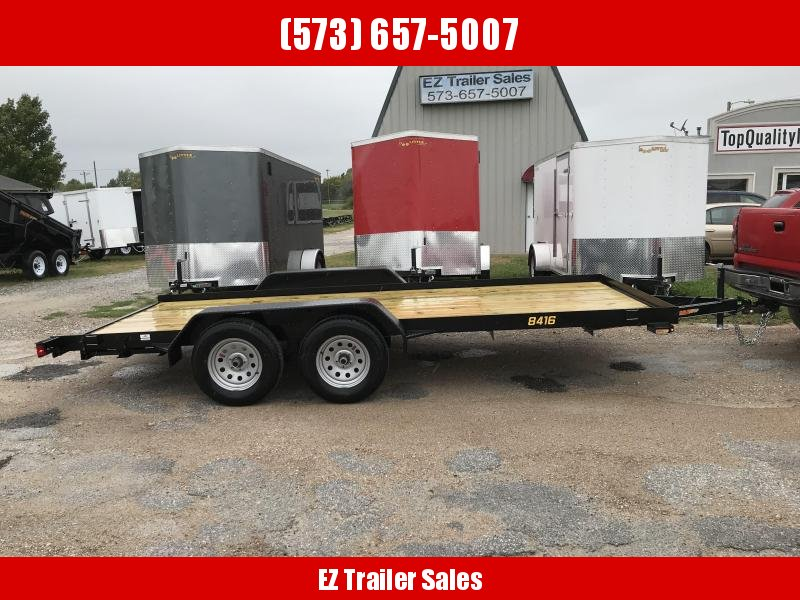 2019 Doolittle Trailer Mfg 84x16 Rally Sport Utility Trailer