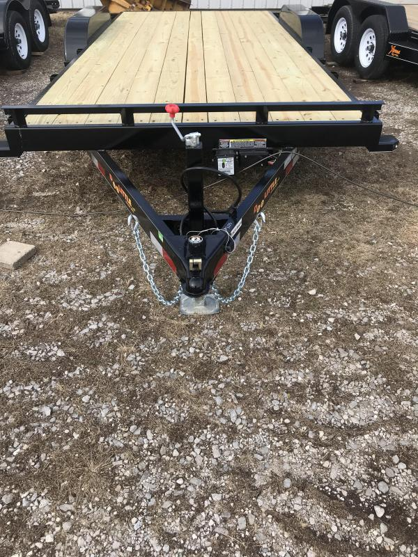 2018 Doolittle 84x18 CF 10k Equipment Trailer