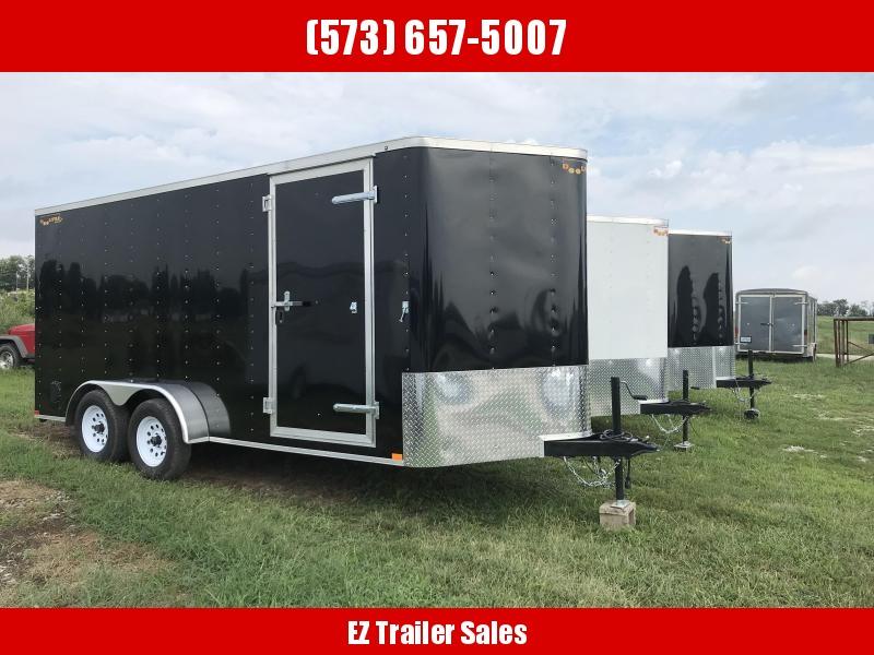 2019 Doolittle Trailer Mfg 7x16 Bullitt Enclosed Cargo Trailer