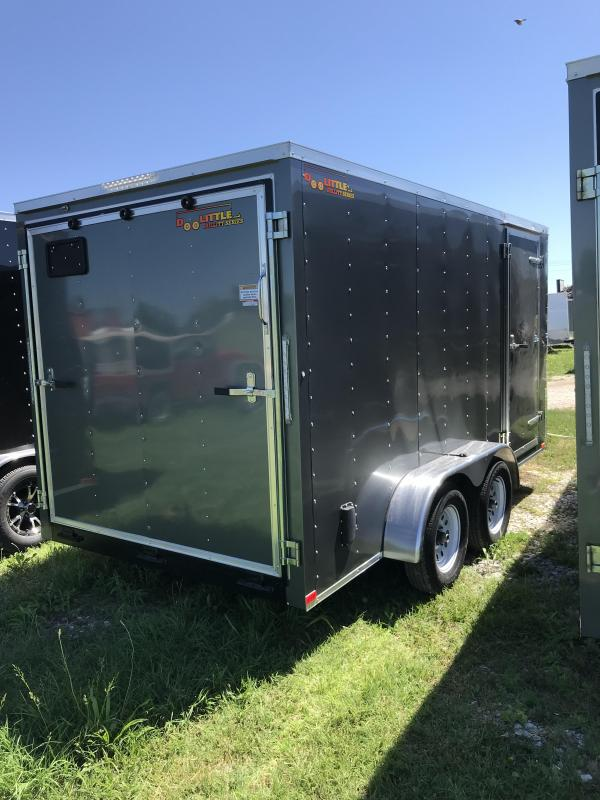 2018 Doolittle 7x14 Bullitt Cargo / Enclosed Trailer