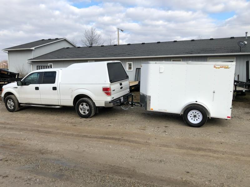 2019 Doolittle 5x8 Single Axle 3K Enclosed Cargo Trailer