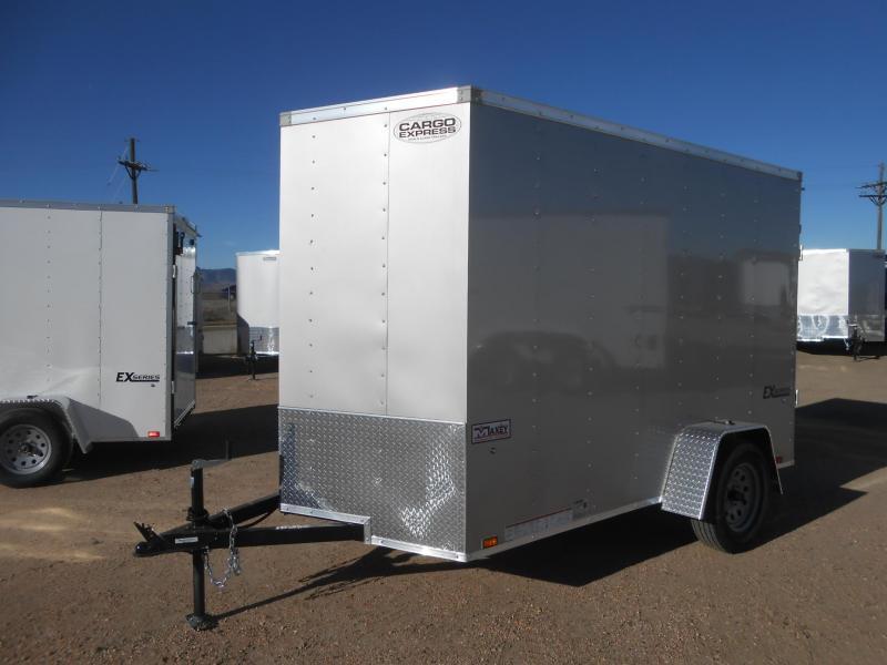 2019 Cargo Express EX6X10S12-V-RD Enclosed Cargo Trailer