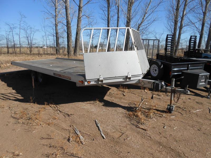 2011 Aluma 8622 Snowmobile Trailer