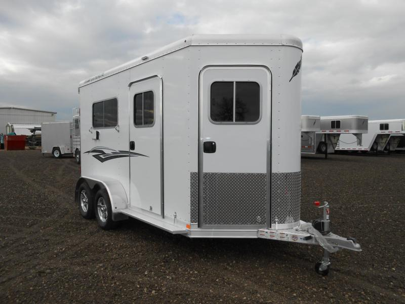 2019 Featherlite All Aluminum 9652-212A 2 Horse Straight Load Trailer