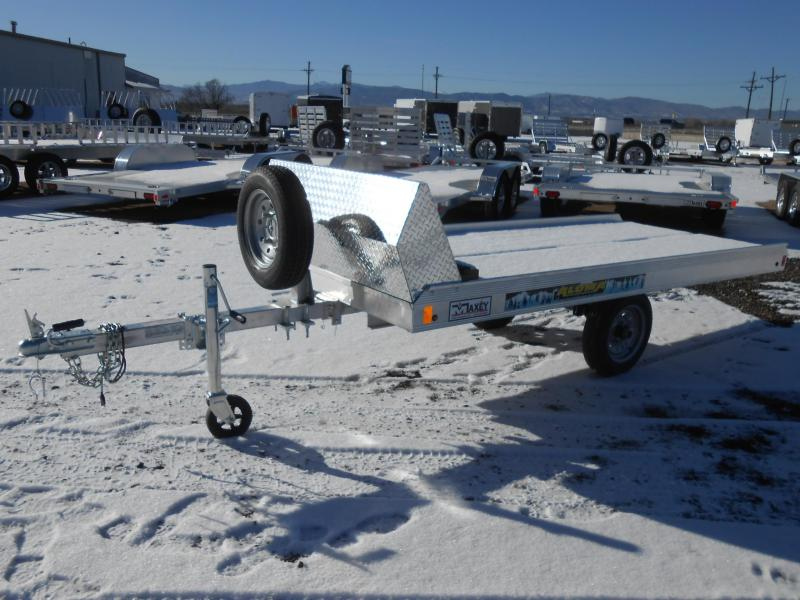 2018 Aluma 8605 Single Place Tilt Snowmobile Trailer