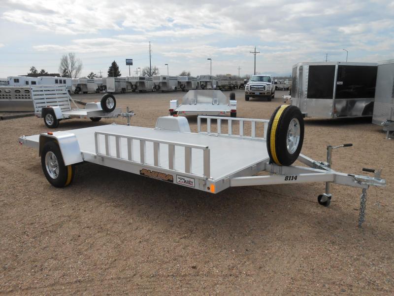 2019 Aluma 8114 All Aluminum ATV / UTV Utility Trailer