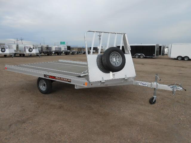 2018 Aluma 8612D 2 Place Snowmobile Trailer