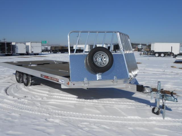 2017 Aluma 8622 22FT Snowmobile Trailer