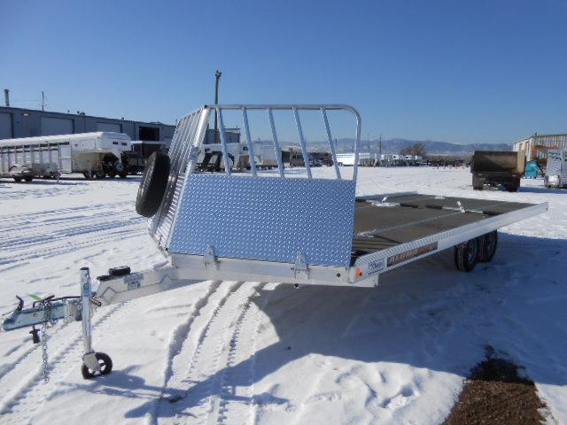 2017 Aluma 8622 22FT Snowmobile Trailer