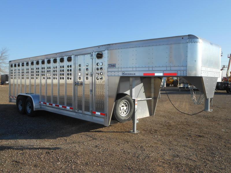 2019 EBY 24FT MAVERICK PUNCH PANEL Livestock Trailer in Ashburn, VA