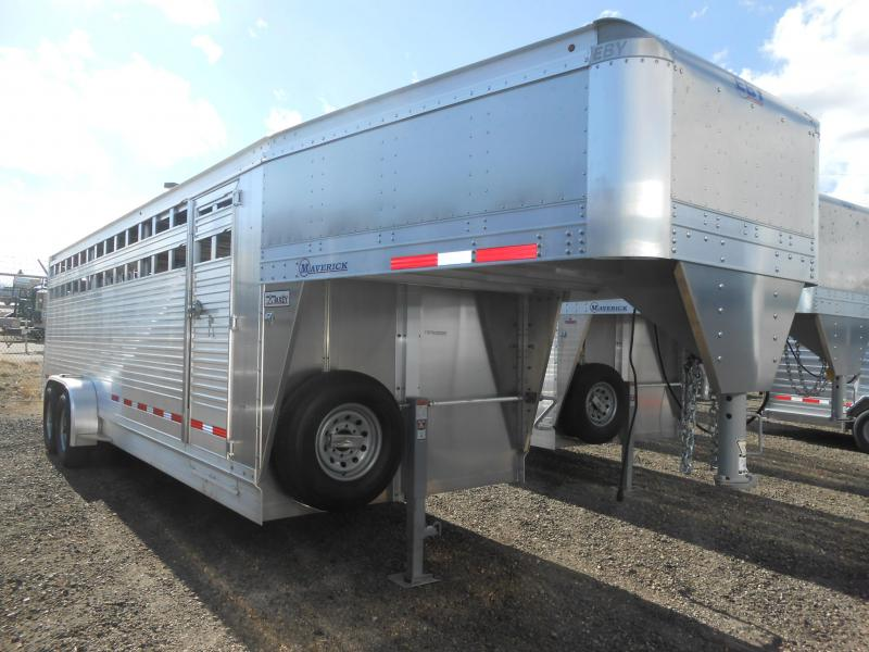 2019 EBY 24FT MAVERICK Livestock Trailer in Ashburn, VA