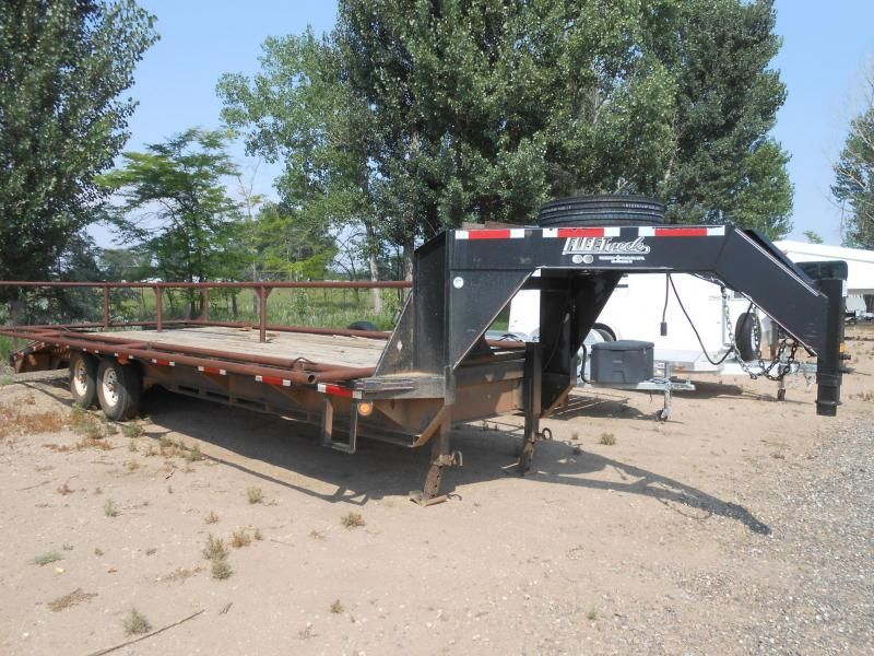 2004 Diamond C Trailers FLEETNECK 8.5W X 20L - 5 RAMPS Flatbed Trailer in Ashburn, VA