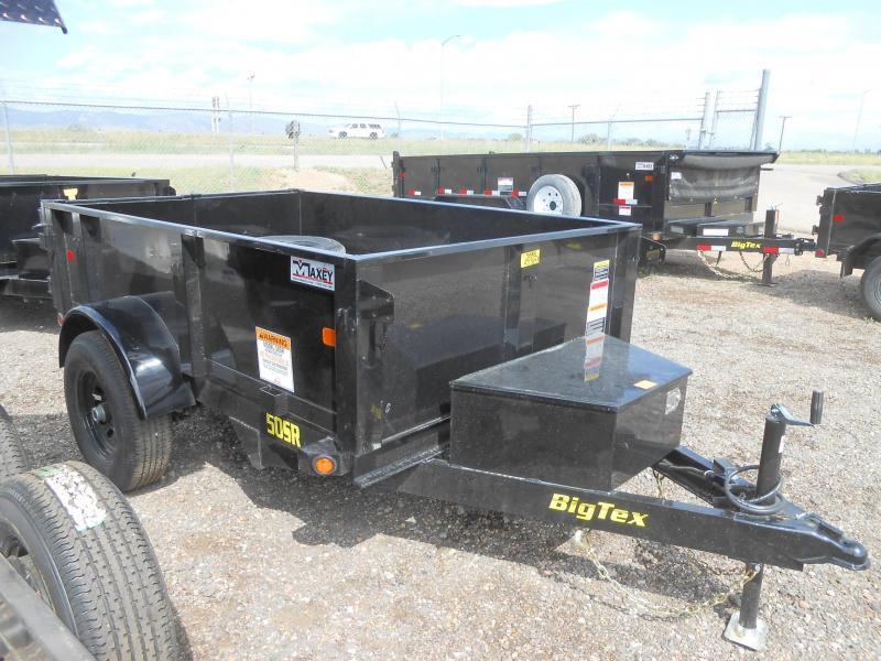 2019 Big Tex Trailers 50SR-08-5WDD Dump Trailer