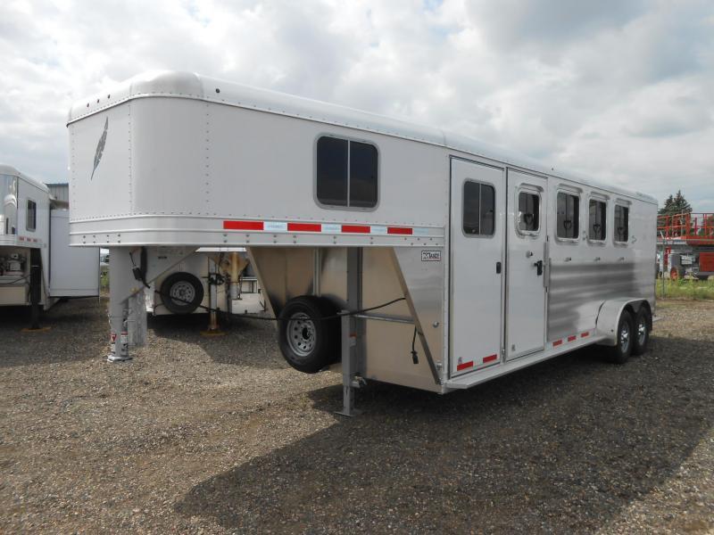 2018 Featherlite 8533-674 - 4 Horse Slant Trailer