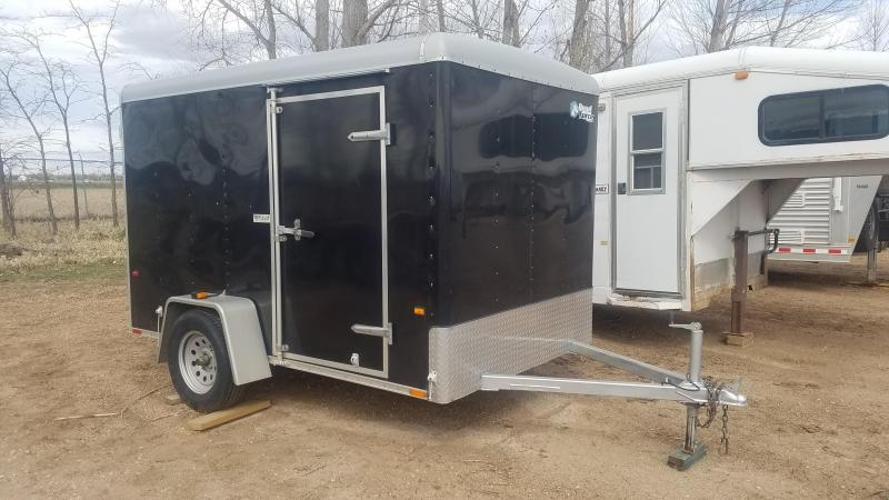 2007 Wells Cargo RF6101-DBL DRS Enclosed Cargo Trailer