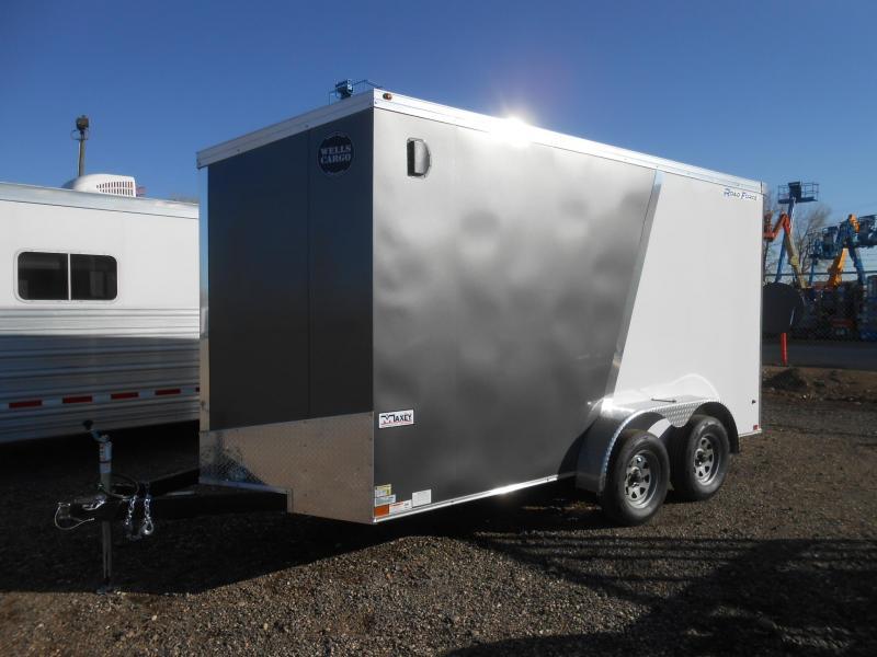 2019 Wells Cargo RFV714T2-RD Enclosed Cargo Trailer