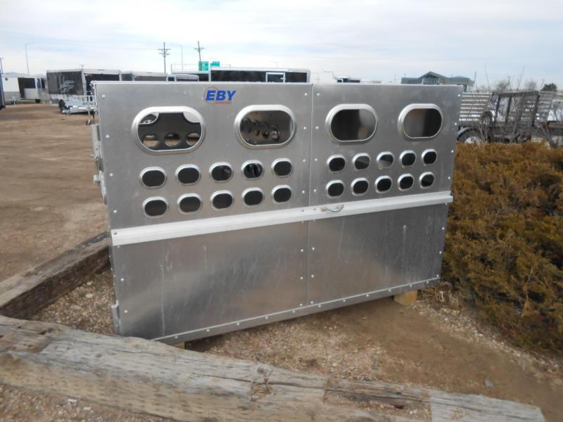 2019 Eby Trailers 4X6 LIVESTOCK BOX Truck Boxes (Livestock and Dog)