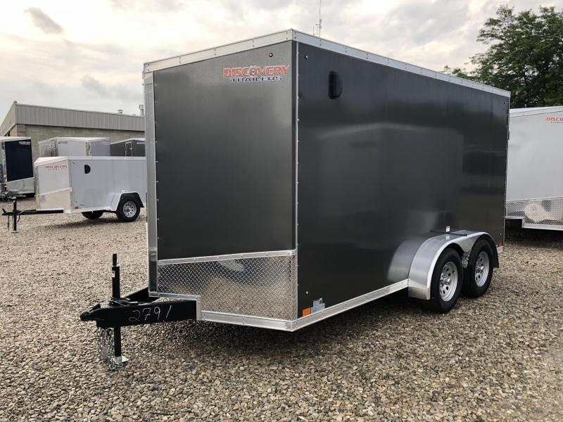 2019 7x14 7K Discovery Enclosed Trailer. 2791