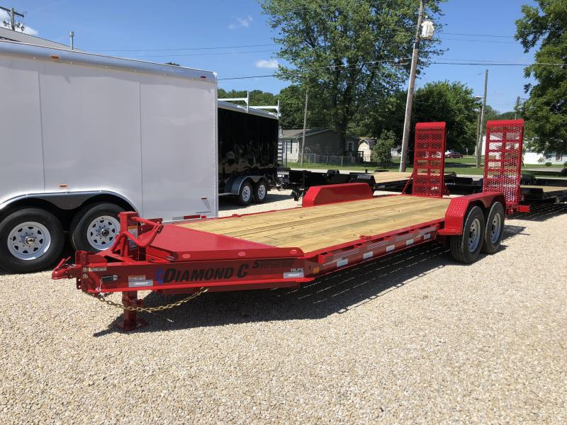 2018 18+2x82 14.9K Diamond C Equipment Trailer. 3238